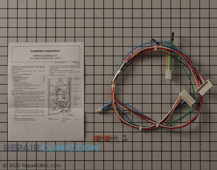 Wire Harness 308124-753 Alternate Product View