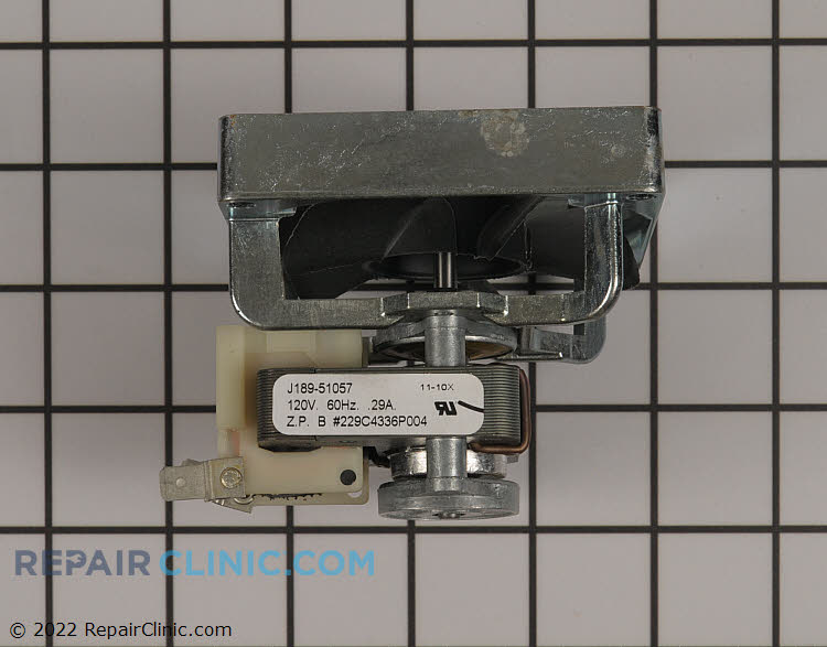 Motor WB26K5072 Alternate Product View