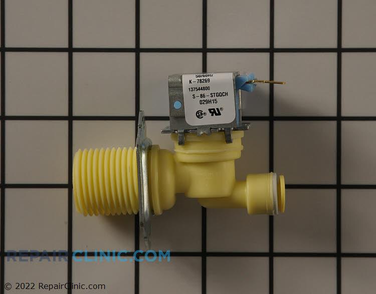 Water inlet mist valve