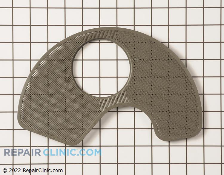 Dishwasher sump filter screen