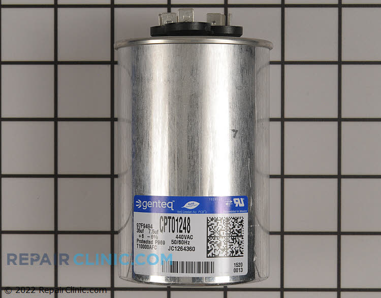 Dual Run Capacitor CPT01248 Alternate Product View