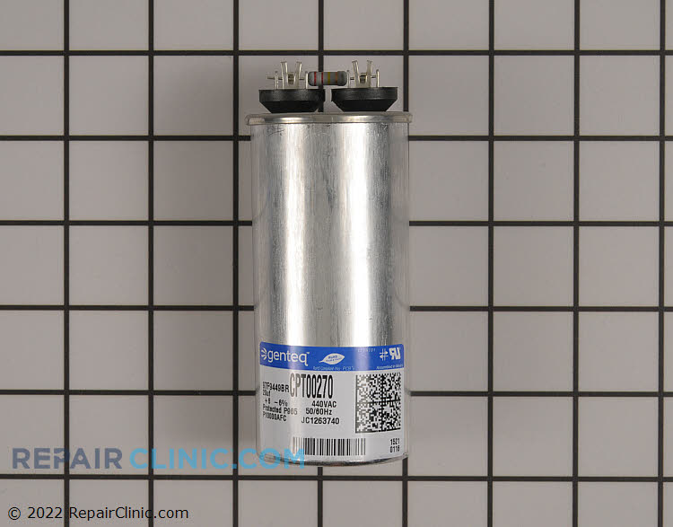 Run capaciitor, round, 20 MFD, 440 volts
