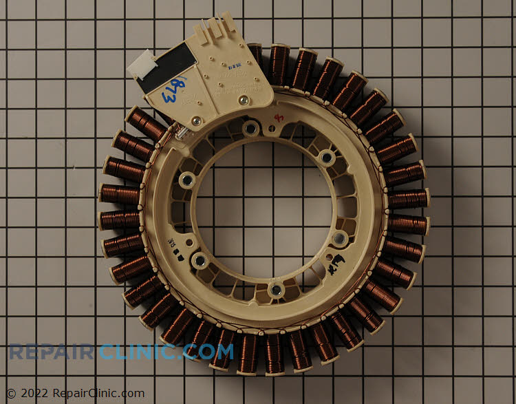 Motor stator assembly with rotor position sensor - Item Number DC31-00111A