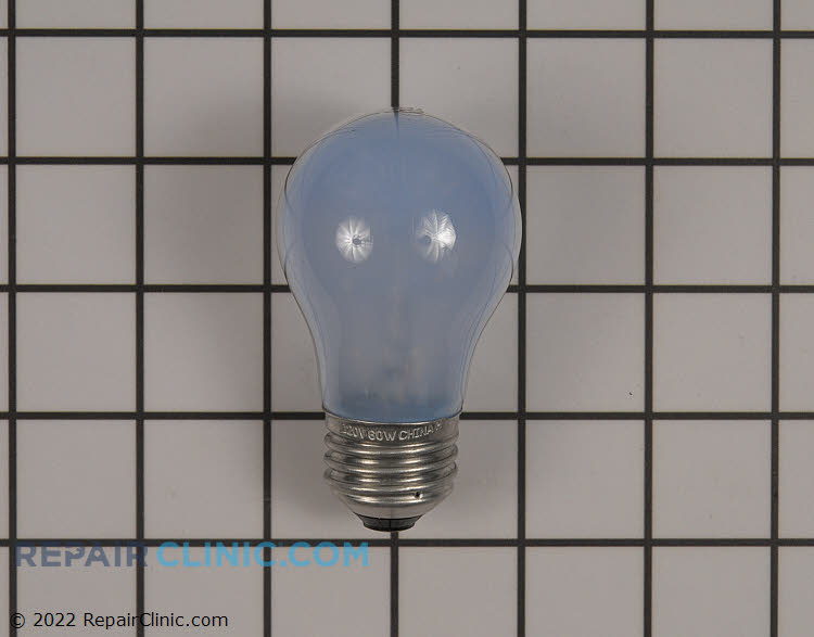 Light bulb, frosted, 40 watt