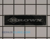 Nameplate - Part # 1934925 Mfg Part # 1805A135
