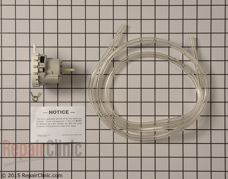 Pressure Switch W10820051       Alternate Product View
