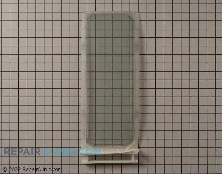 Dryer lint screen assembly with handle