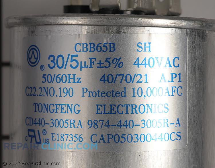 Dual Run Capacitor CAP050300440RSP Alternate Product View