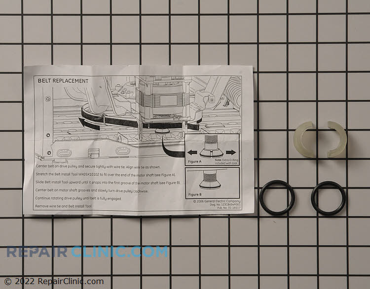 Service kit belt tool - Item Number WX05X20641