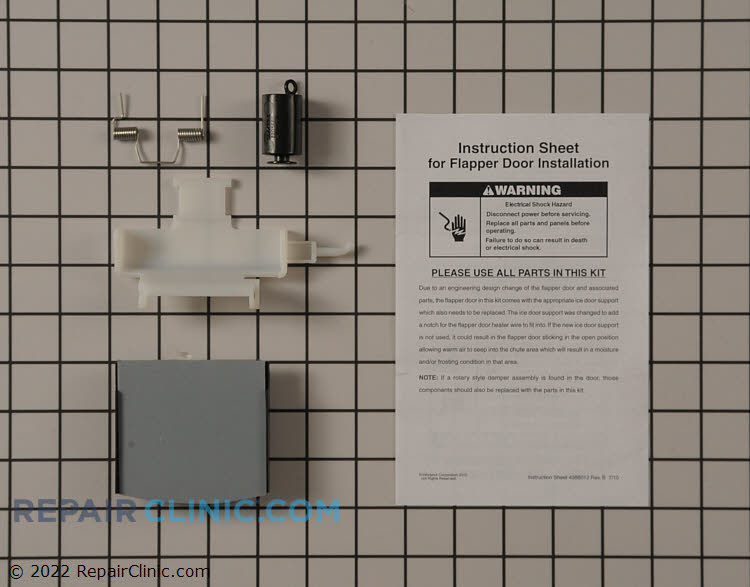 Dispenser Repair Kit W10823377       Alternate Product View