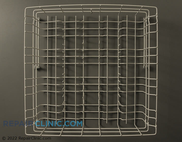 Dishwasher upper rack assembly.