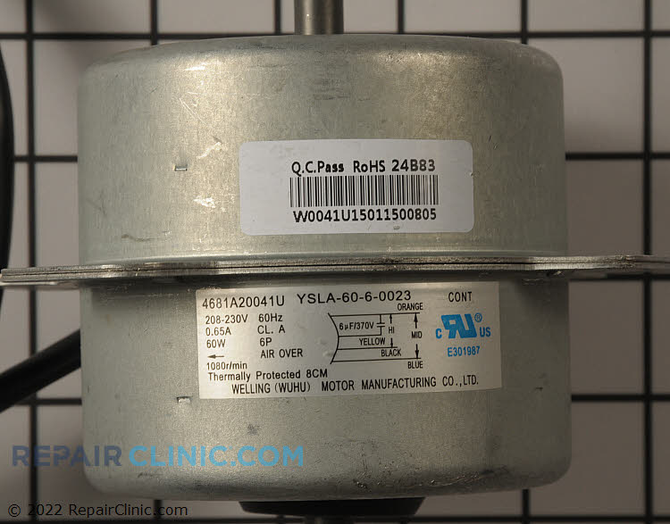 Fan Motor 4681A20041U Alternate Product View