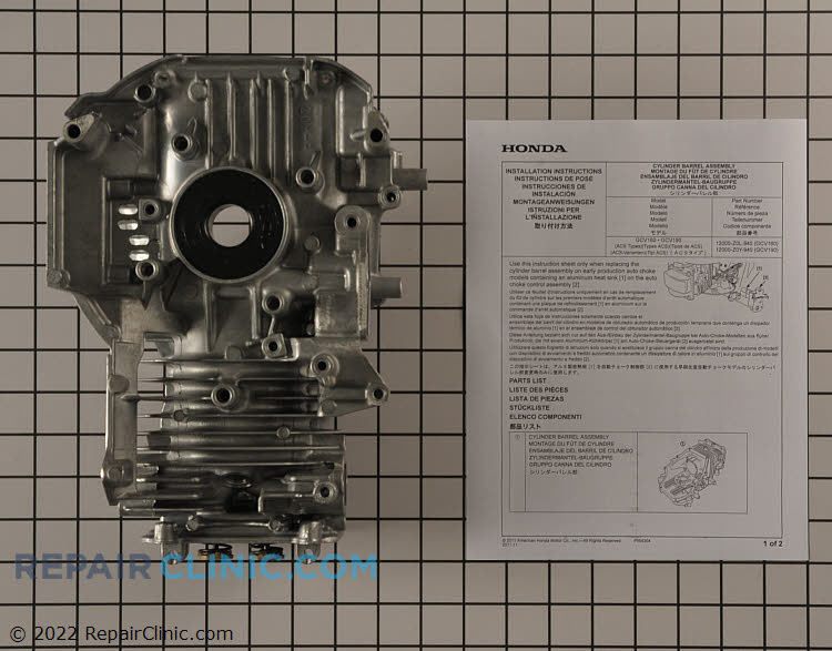 Crankcase 12000-Z0Y-940 Alternate Product View