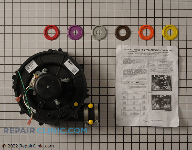 Draft Inducer Motor S1-32647781000  Alternate Product View