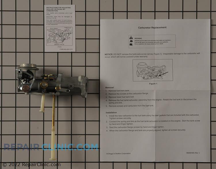 Carburetor-rotary choke