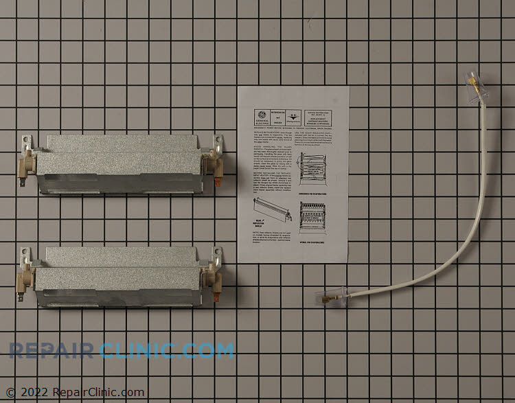 Defrost Heater Assembly WR49X391 Alternate Product View