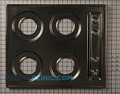 Metal Cooktop - Part # 1935413 Mfg Part # 5202Z