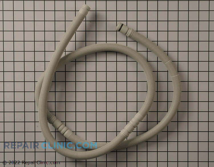 Dishwasher drain hose assembly.