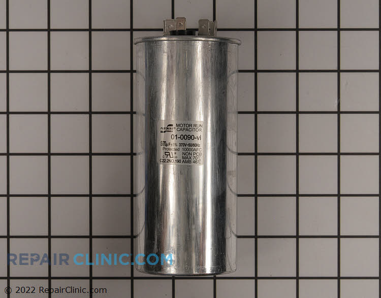 Dual Run Capacitor 01-0090 Alternate Product View