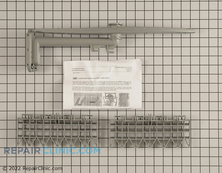 Upper Dishrack Assembly 00249277 Alternate Product View