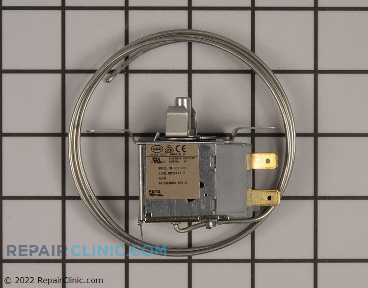 Temperature Control Thermostat WPW10583800 Alternate Product View