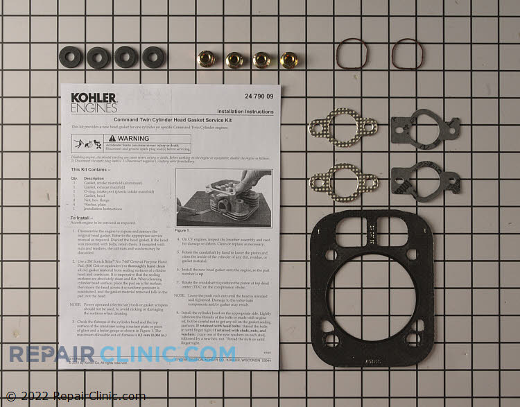 Cylinder Head Gasket Kit 24 841 04-S     Alternate Product View