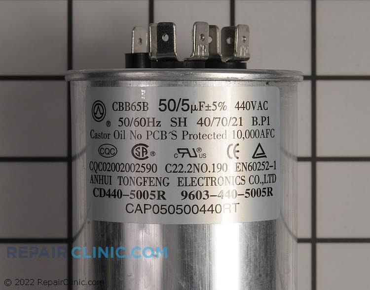 Dual Run Capacitor CAP050500440RTP Alternate Product View
