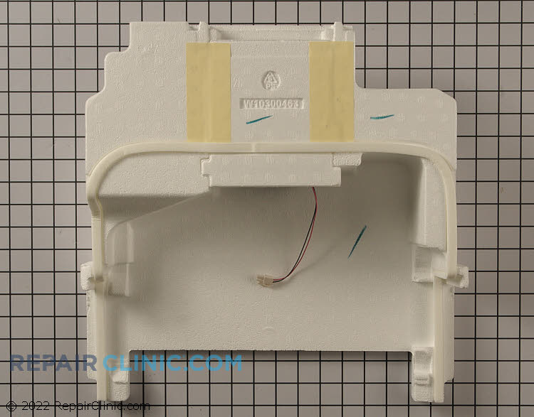 Evaporator Fan Motor WPW10453428 Alternate Product View