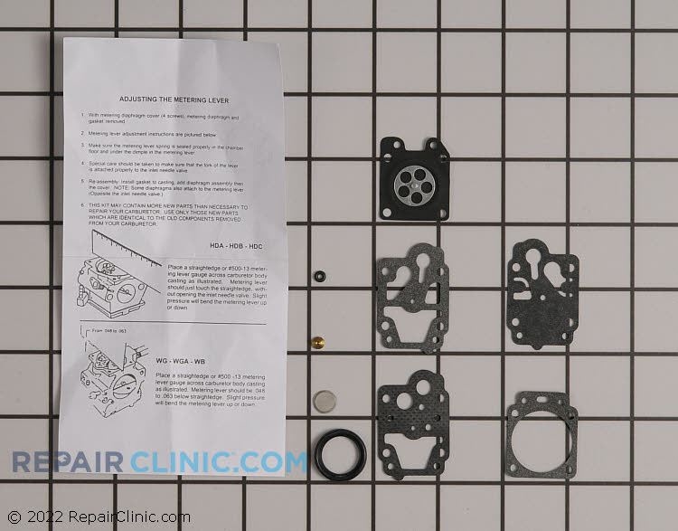 Carburetor Repair Kit 12310040930 Alternate Product View