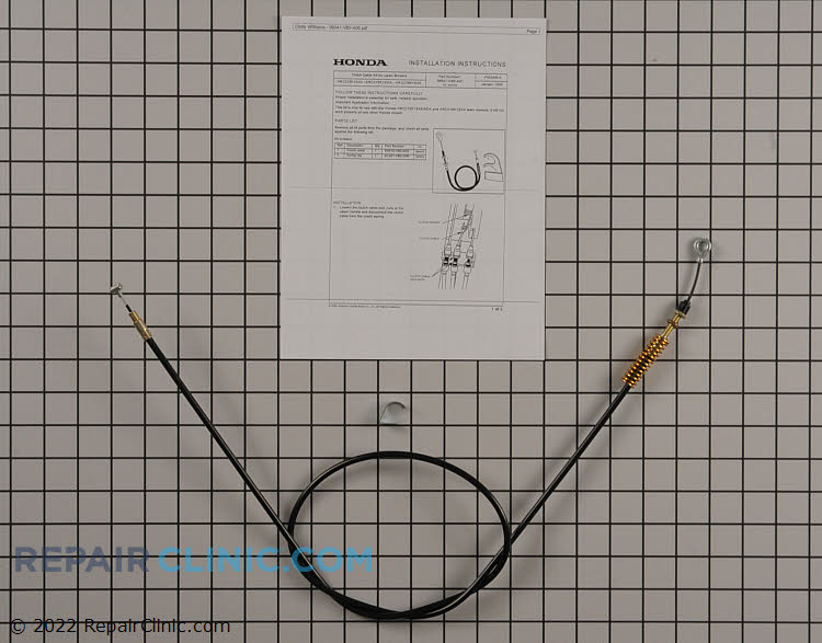 Clutch Cable 06541-VB5-A01 Alternate Product View