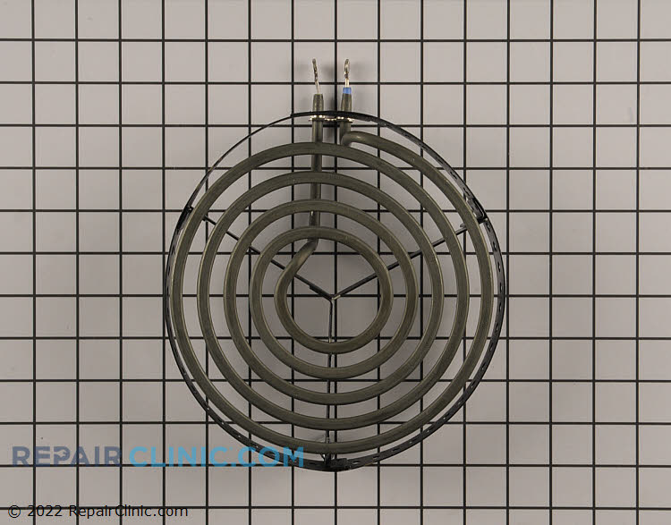 Specialty coil style surface element, 8 inch. Large Pot/Canning
