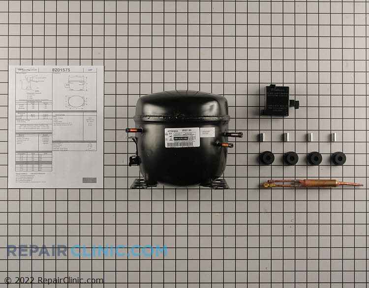 Compressor W10841139       Alternate Product View