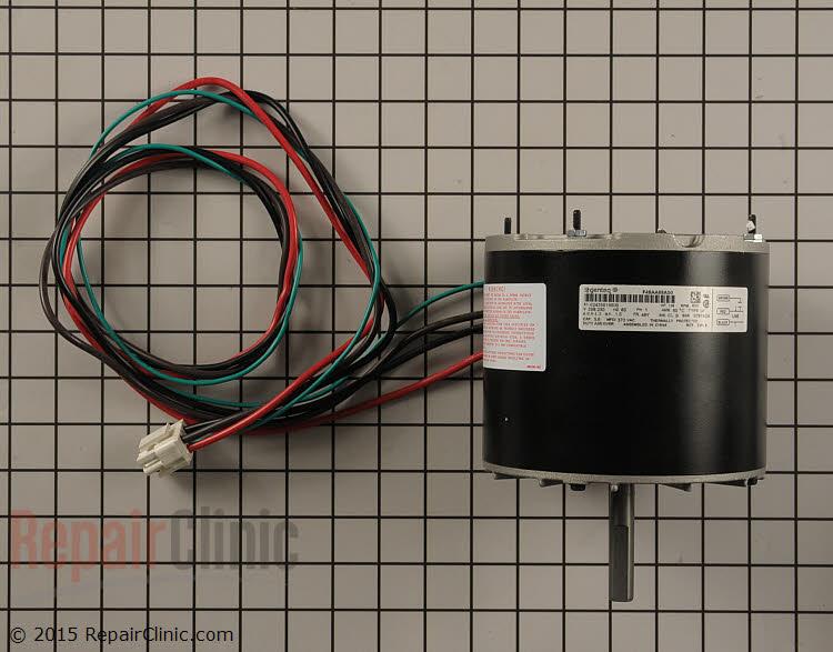 Condenser fan motor 1/4hp 230v 850rpm 1ph