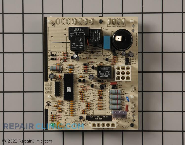 Integrated control board