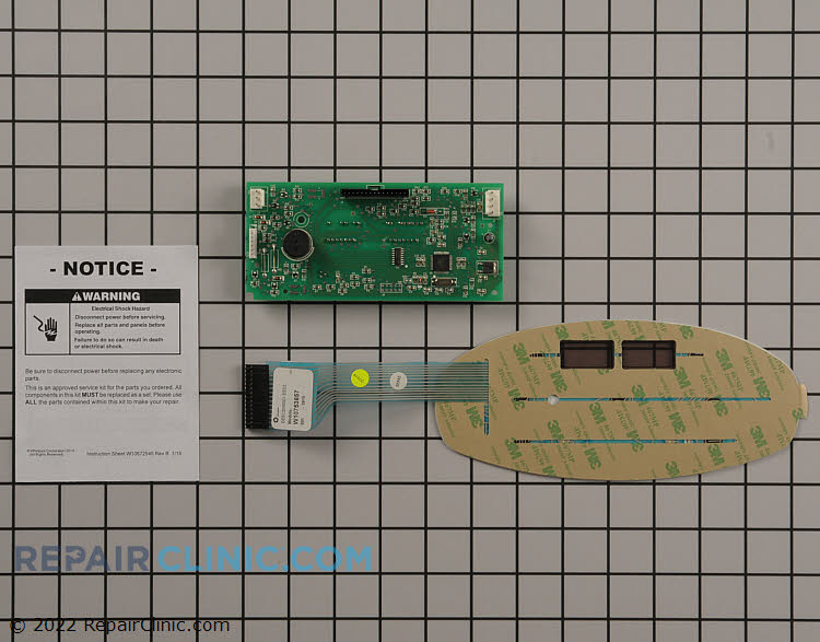 Control Board W10775847 Alternate Product View
