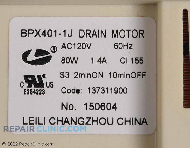 Drain Pump 137311900 Alternate Product View