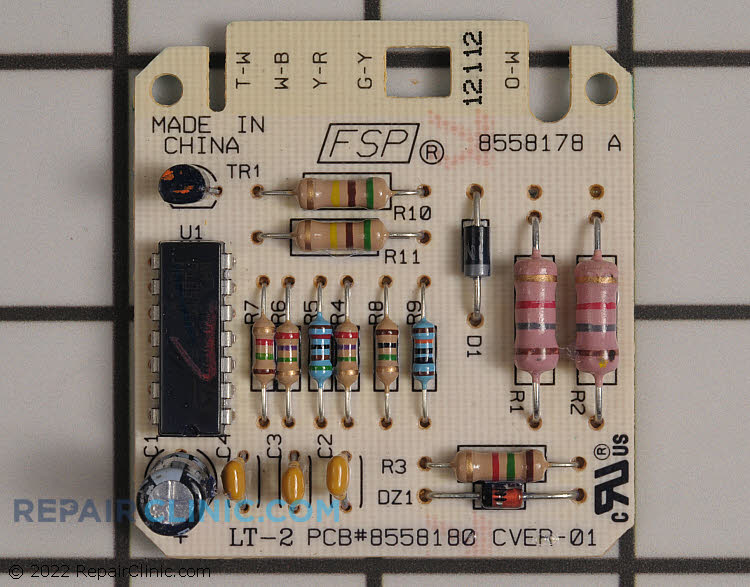 Dryness Control Board WPW10476828 Alternate Product View