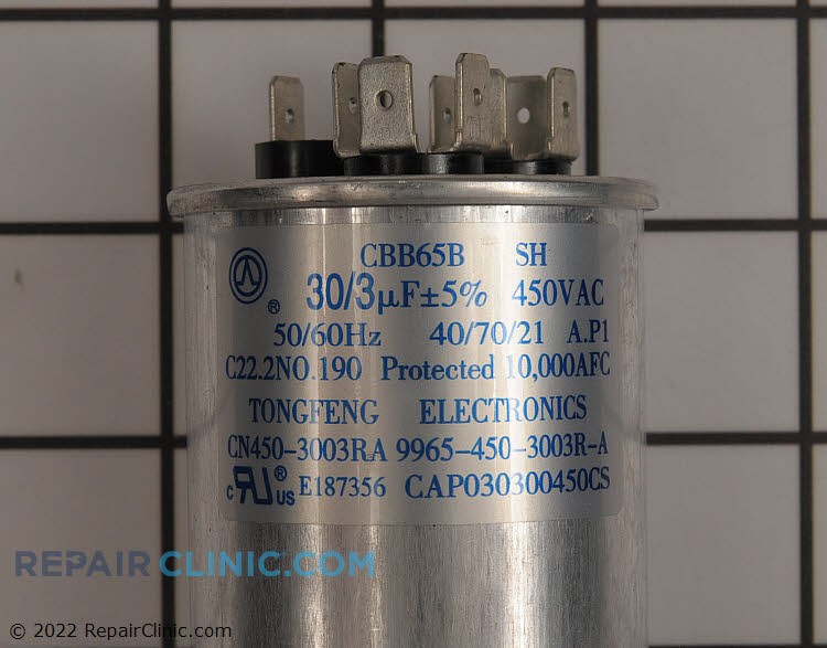 Dual Run Capacitor CAP030300450CS Alternate Product View