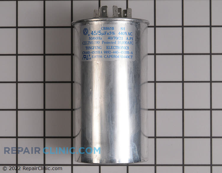 Dual Run Capacitor CAP050450440RTP Alternate Product View