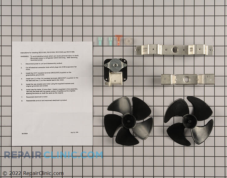Evaporator Fan Motor R0151004 Alternate Product View