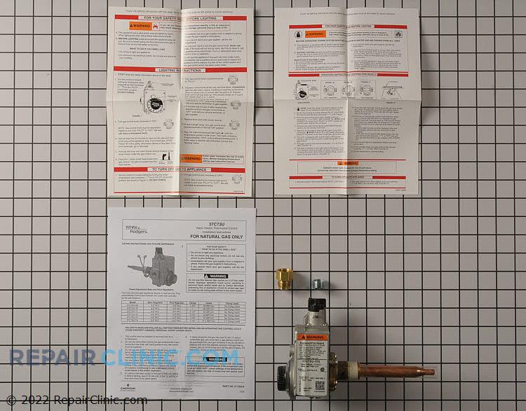 Gas water heater ctl