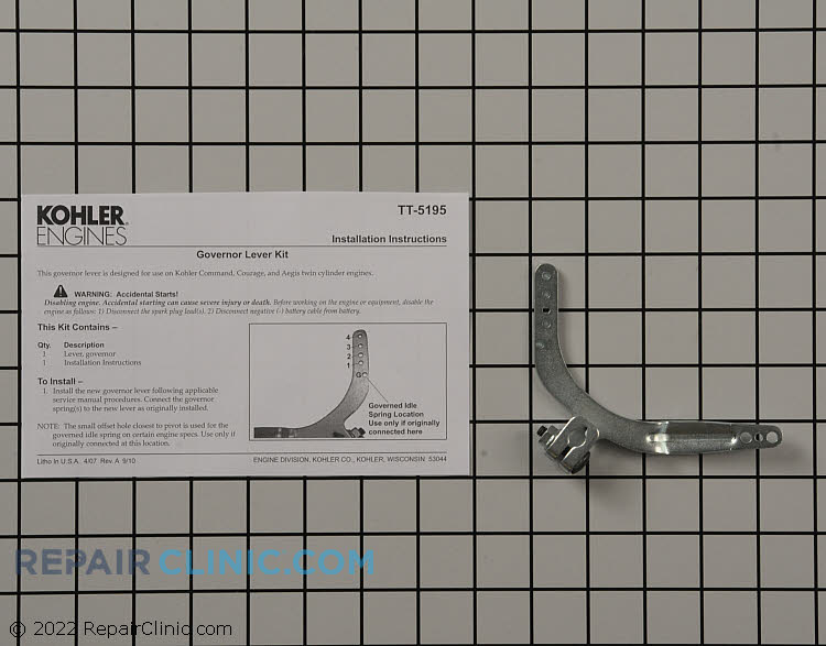 Governor Arm 24 090 69-S Alternate Product View