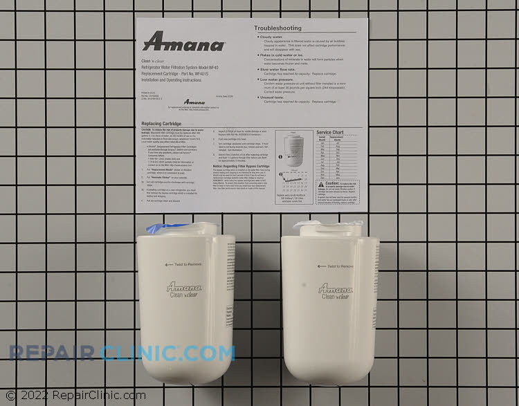 Water Filter WF401P Alternate Product View