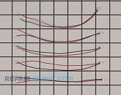 Wire Harness - Part # 2389637 Mfg Part # TX-2WR05