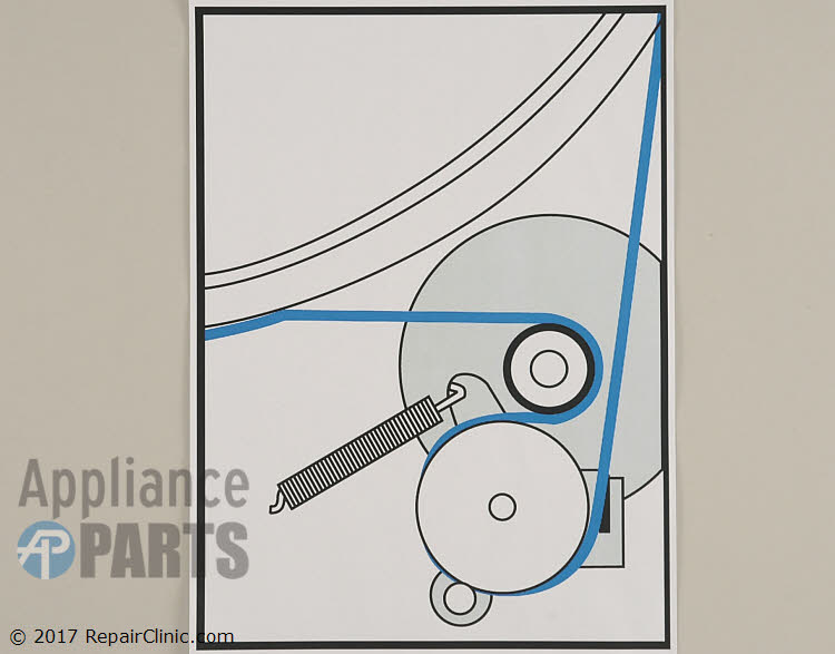 Drive Belt WPY312959 Alternate Product View