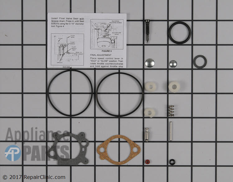 Carburetor Repair Kit 498260          Alternate Product View