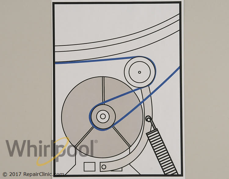 Drive Belt WP40111201 Alternate Product View