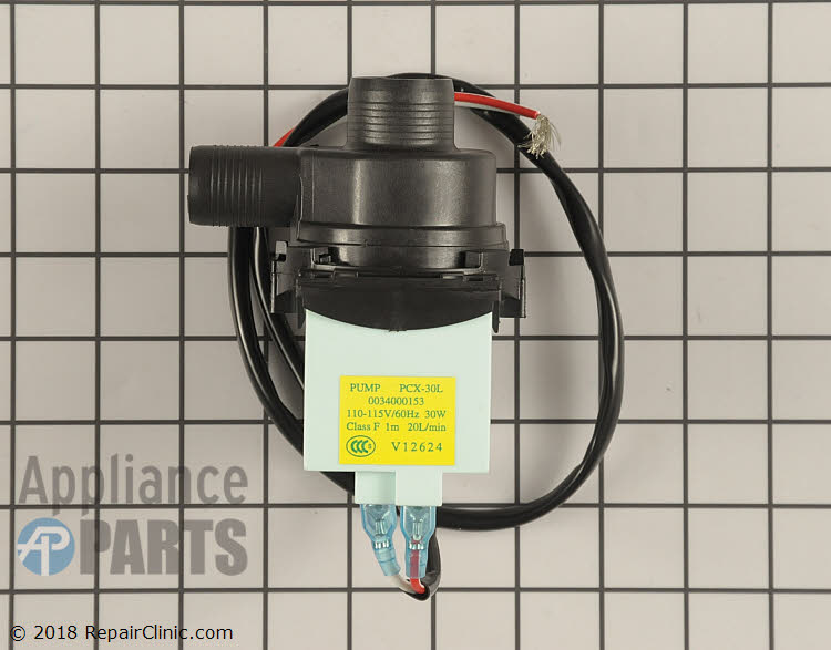 Drain Pump WH23X27419 Alternate Product View