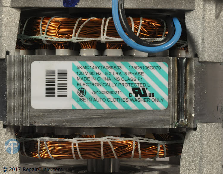 Drive Motor WH20X10094 Alternate Product View