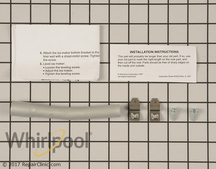 Fill Tube 4378431 | Whirlpool Replacement Parts